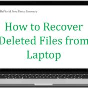 How to Recover Deleted Data from Laptop Hard Drive