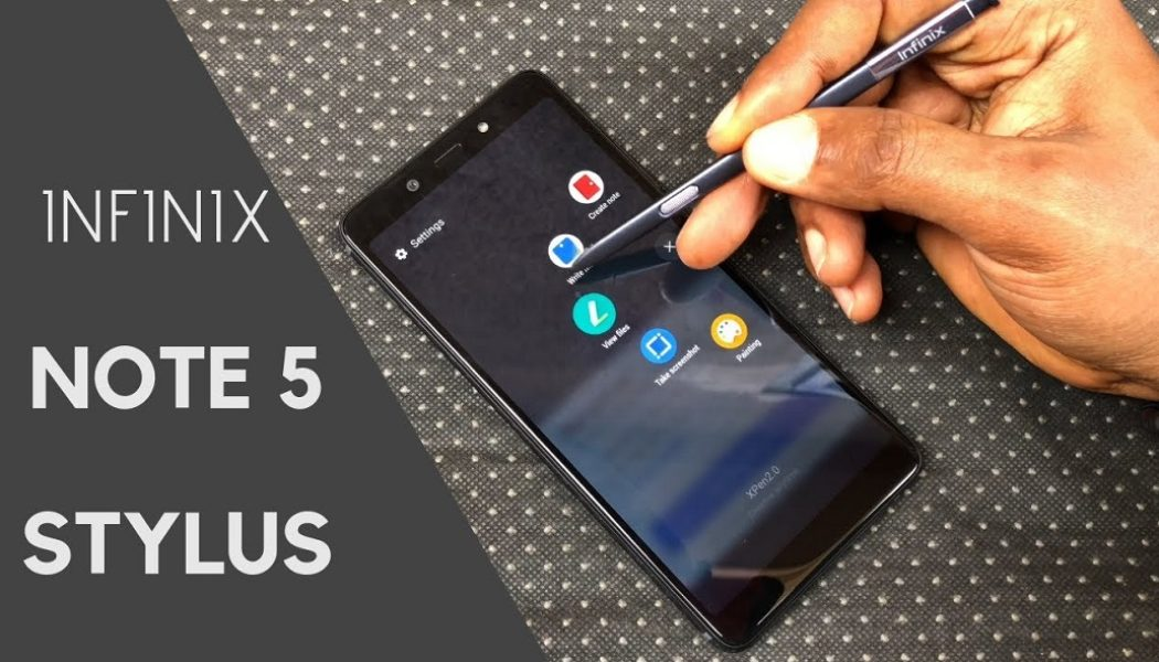 Infinix Note 5 Stylus: Perfect mid-range device for scribblers